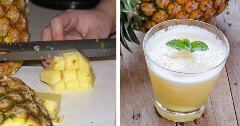 Image of NEVER Buy Cough Syrup Again: Simple pineapple mixture is 5x more effective and fights inflammation!