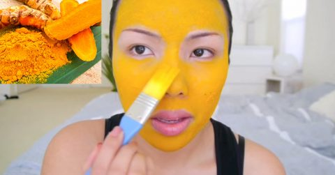 Image of How to use turmeric on your face to eliminate acne, eczema, inflammation and dark spots forever
