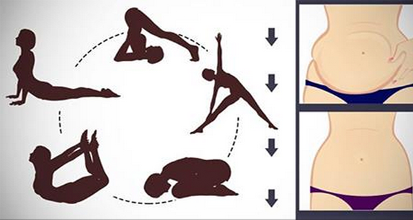 Image of 5 Simple Yoga Poses To Reduce Even the MOST Stubborn Belly Fat