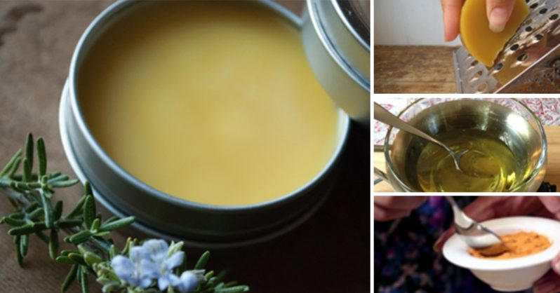 Image of Treat wounds, infections and improve skin health with this homemade turmeric-coconut oil salve