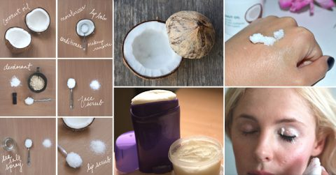 Image of How to make EVERY SINGLE KIND of coconut oil beauty product in 5 steps or less