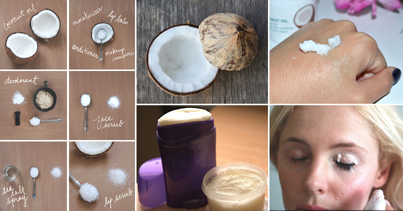 How to make EVERY SINGLE KIND of coconut oil beauty product in 5 steps or less