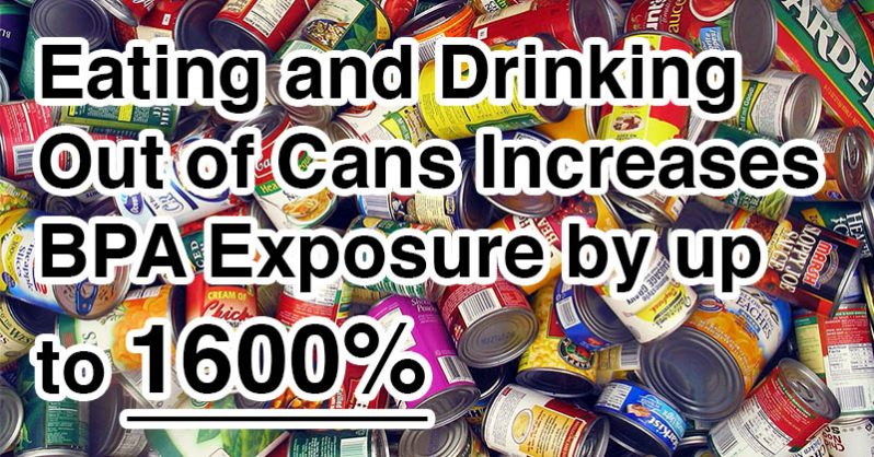 Image of These 10 Common Items are FILLED with HIDDEN fat-forming, cancer-causing, hormone-disrupting BPA