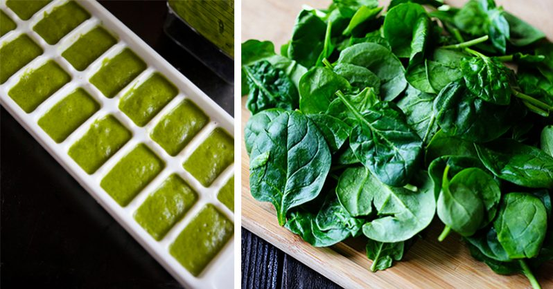 Image of How to make your spinach last 20 times longer by FREEZING it