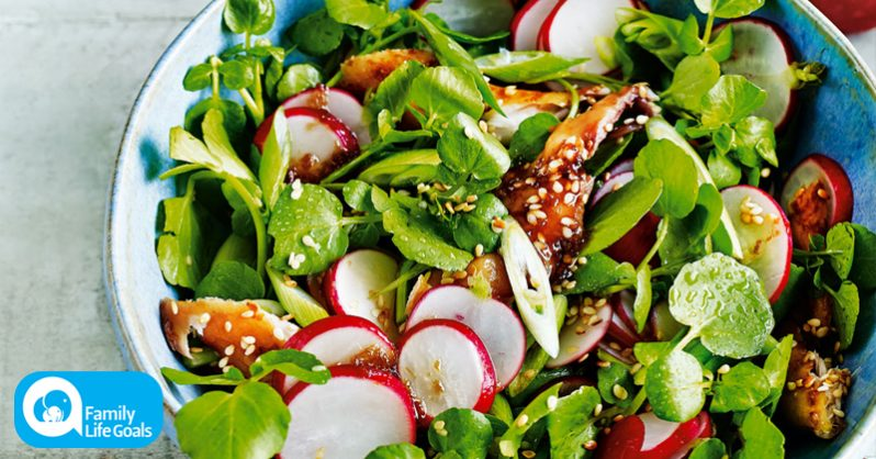 Image of Liver-Cleansing Radish Salad with snap peas, olive oil and inflammation-fighting nutrients