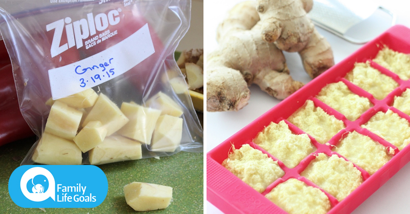4 different ways to FREEZE ginger that maintain its science-backed benefits
