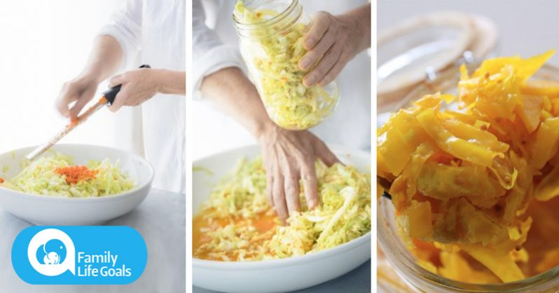 Image of How to combine sauerkraut and turmeric to supercharge their benefits.