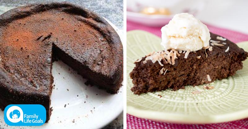 Gluten-Free Quinoa Cake with coconut flakes, coconut milk AND coconut oil