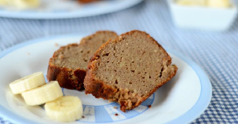 The quickest, easiest and most delicious gluten-free banana bread you'll ever make