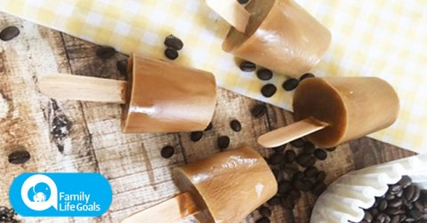 Image of These creamy, coffee-flavored ice cream pops are delicious, refreshing and sugar-free