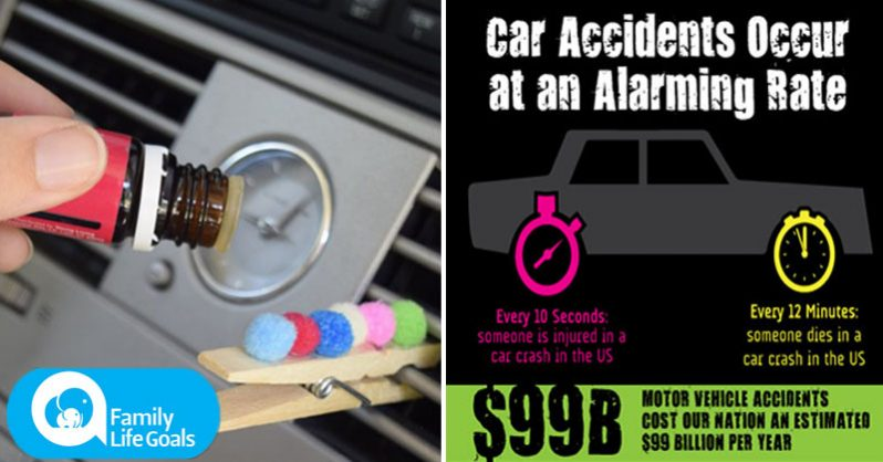Image of Diffuse one of these essential oils in your car to stay alert and avoid fatal accidents