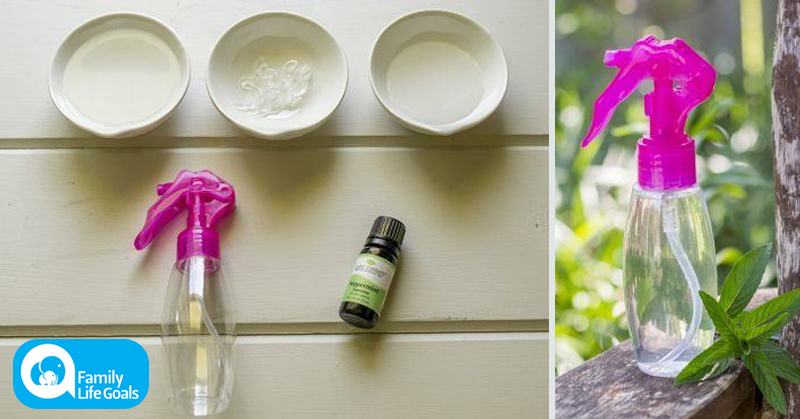 This DIY Cooling Spray Works Better Than A/C and You Can Take it ANYWHERE!