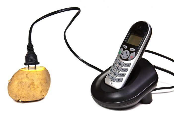 Battery of potato - a practical idea for''green energy''practicable