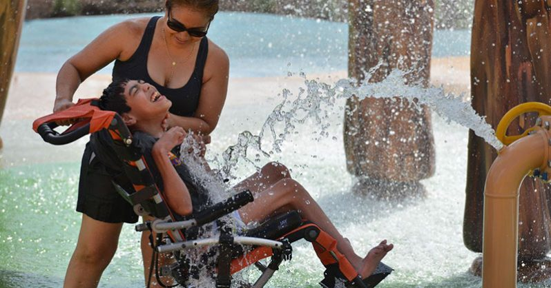 Image of The World's First Water Park for Children with Disabilities Has Opened, and The Pictures are Wonderful
