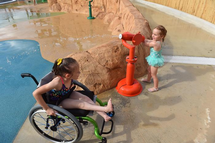 morgan's wonderland, morgan's inspiration island, world's first accessible water park