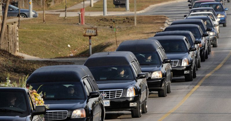 Image of Do You Have to Pull Over for a Funeral Procession?