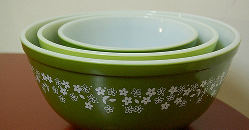 Check your kitchen cabinet: Vintage Pyrex may be worth big bucks