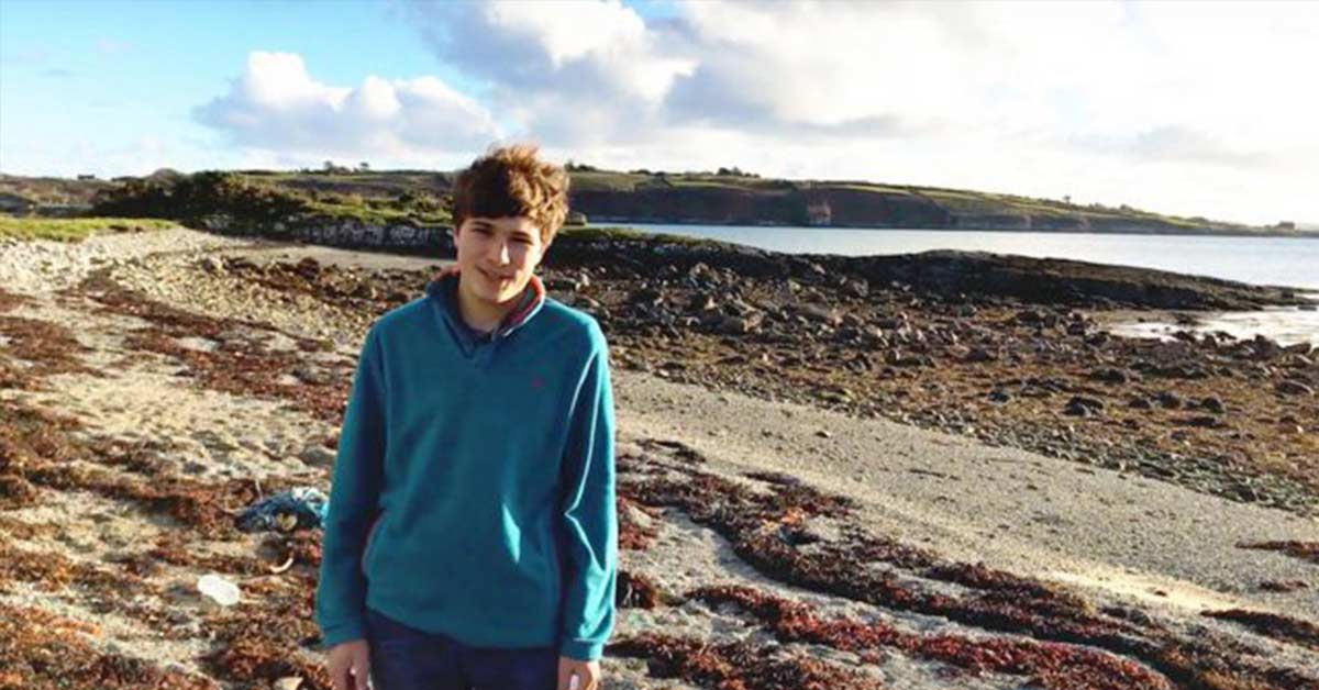 Irish boy's innovative idea can remove up to 88 percent of microplastics from water