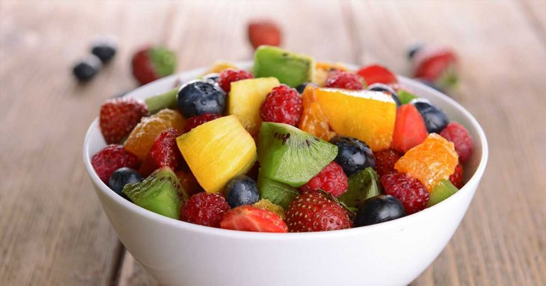 Image of Try This Delicious Rainbow Fruit Salad with Honey and Lime