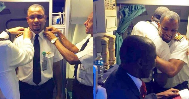Image of 24 years later, this aircraft cleaner becomes a pilot