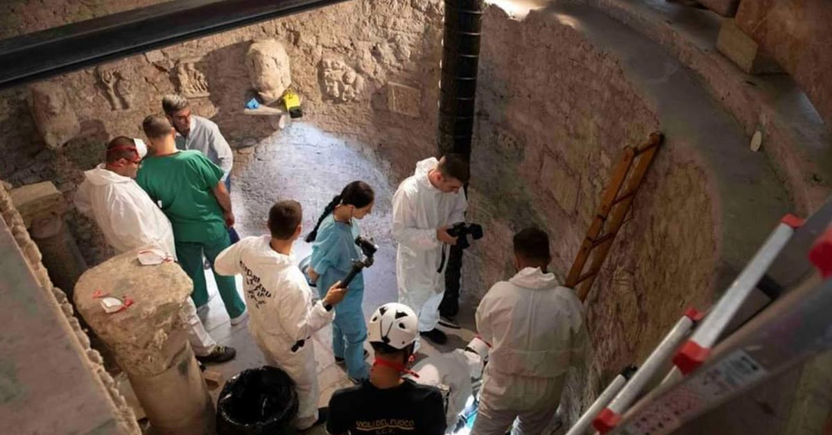Search For Missing Teen Uncovers Thousands of Bones Inside The Vatican