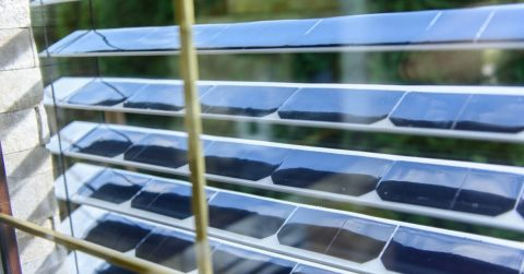 Image of Get These Awesome Window Blinds That Also Double as Solar Panels