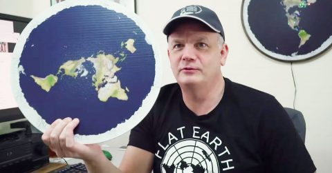 Image of $20,000 Behind The Curve Flat Earth Netflix Documentary Prove The Earth Is Round