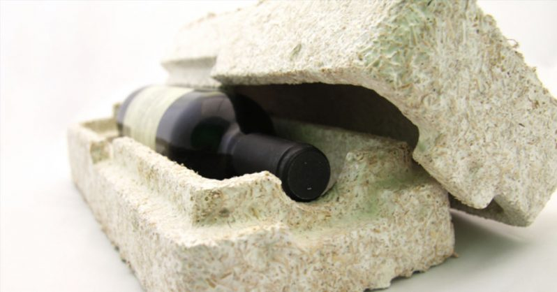 Image of IKEA Replaces Styrofoam with Mushroom Boxes That Would Decompose In a Garden within Weeks