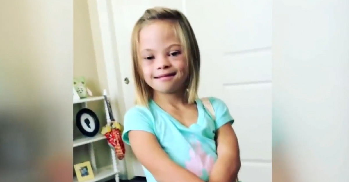 """Yes, I Can Do Anything I Want!"" 7-Year-Old Girl with Down syndrome Goes Viral as She Shares Inspiring Messages"