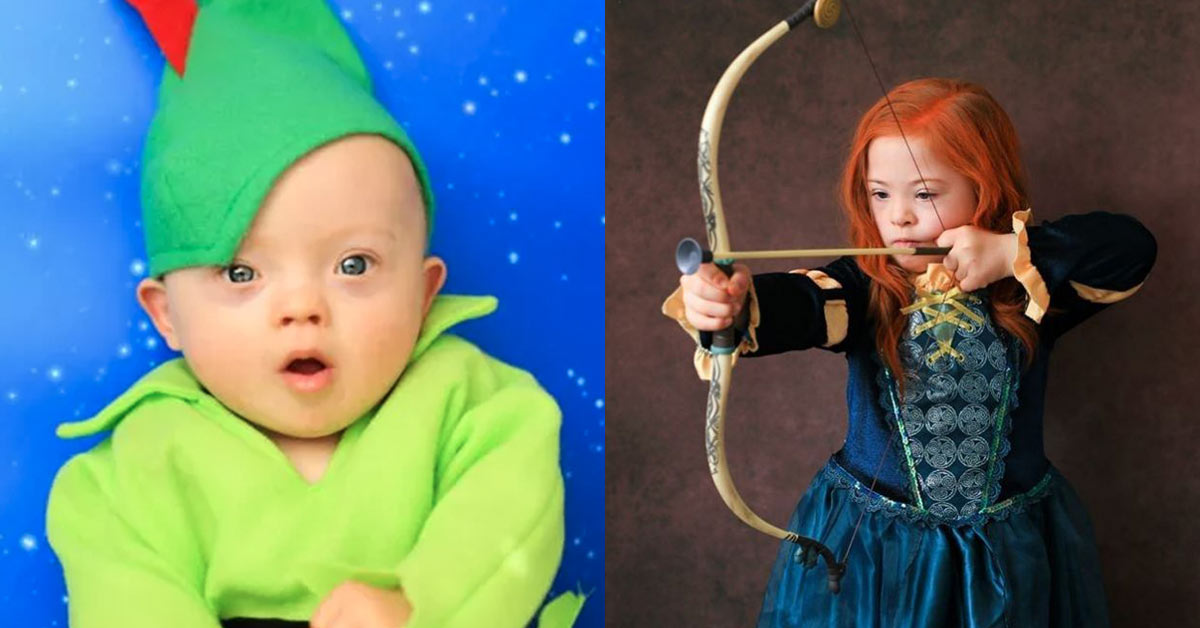 Down with Disney: Photographer Creates a Photo Series That Features Kids With Down syndrome As Disney Characters