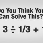 Can you solve this simple math problem?