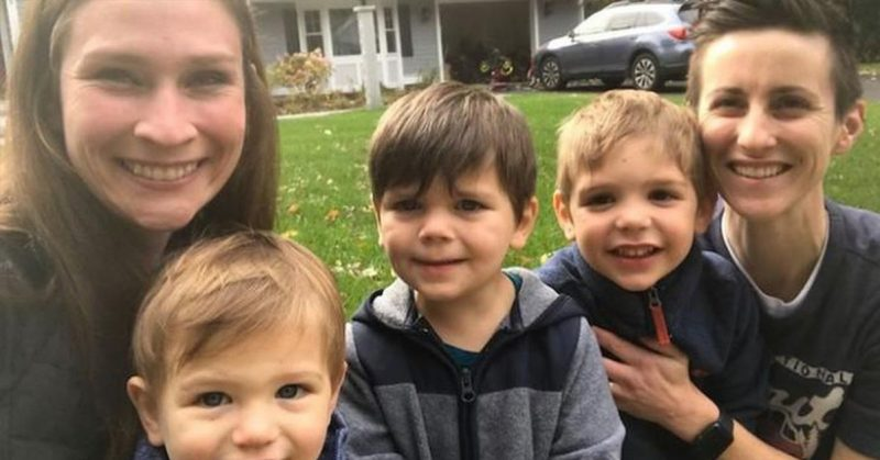 Lesbian couple adopts three separated brothers so they can grow up together