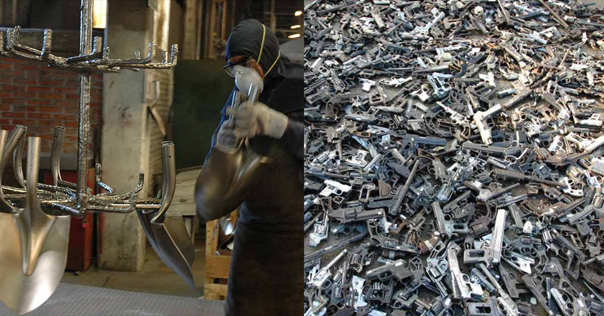 From Weapons of Mass Destruction to Instruments of Creation: 1,527 Trees Planted With Shovels Made From 1,527 Guns
