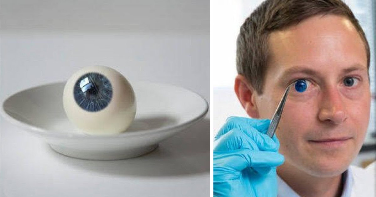 Scientists invent the world's first 3D printed human cornea