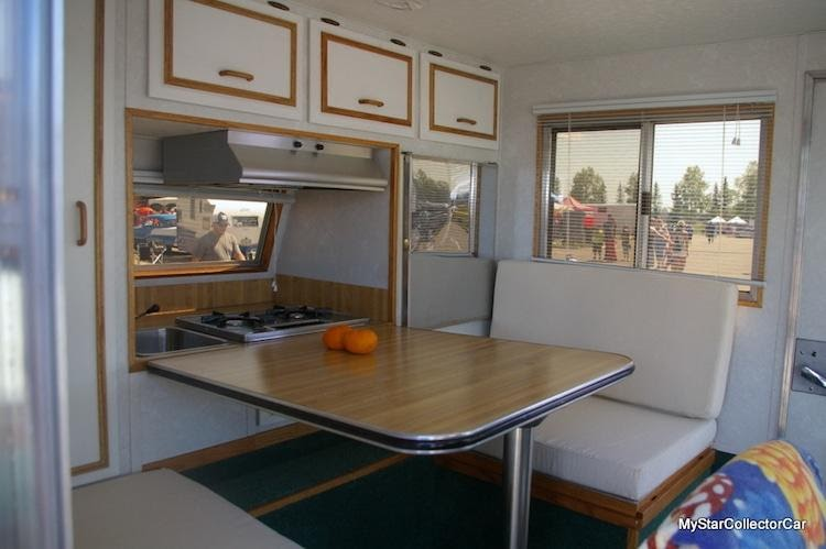 volkswagen bug camper interior