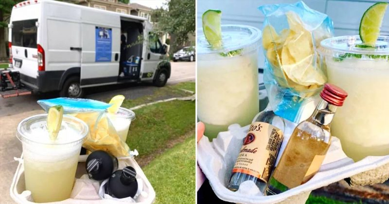 'Adult Ice Cream Truck' Delivers Frozen Cocktails Right to Your Door in Houston
