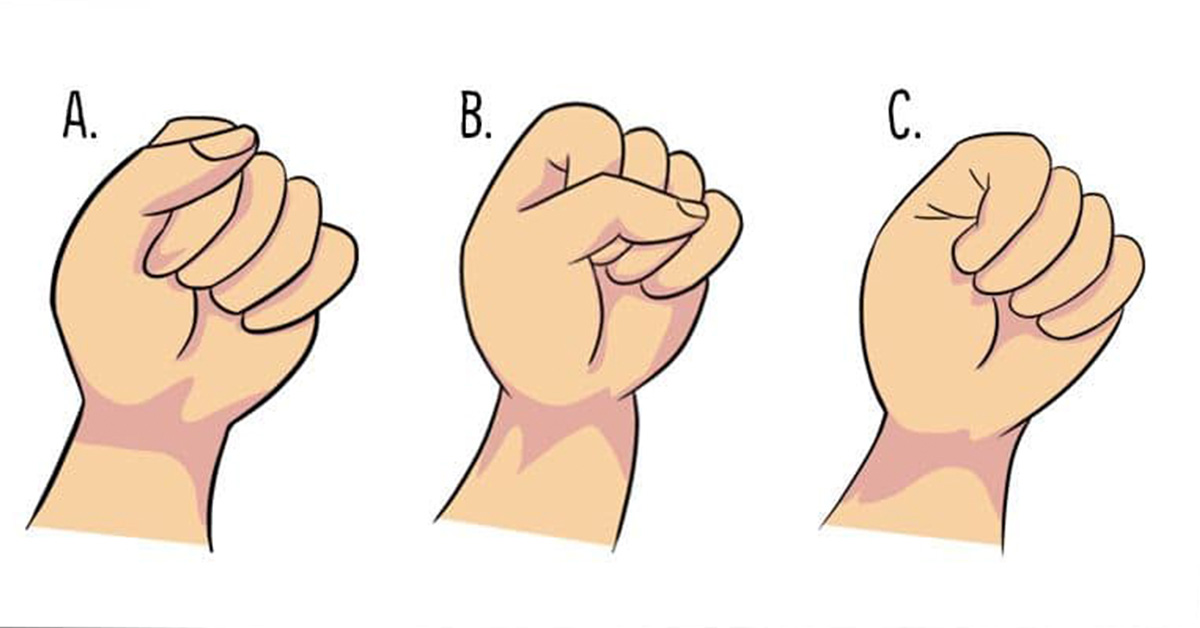 The Way You Make a Fist Reveals a Lot About Your Personality