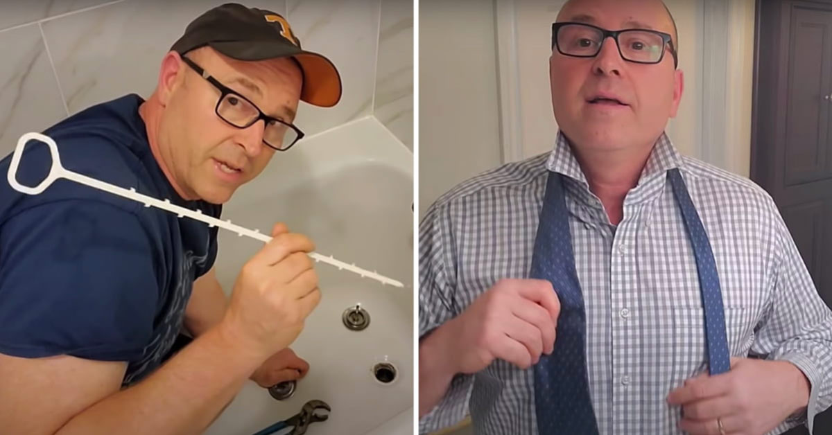 """""""Dad, how do I?"""": Man Who Grew Up Without A Dad Makes Videos To Teach Kids Basic Household Skills"""