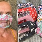 Deaf Mom Designs Facemask with Plastic Window over the Mouth to Allow Lip Reading – Gets Swarmed With Hundreds of Orders from Care Homes