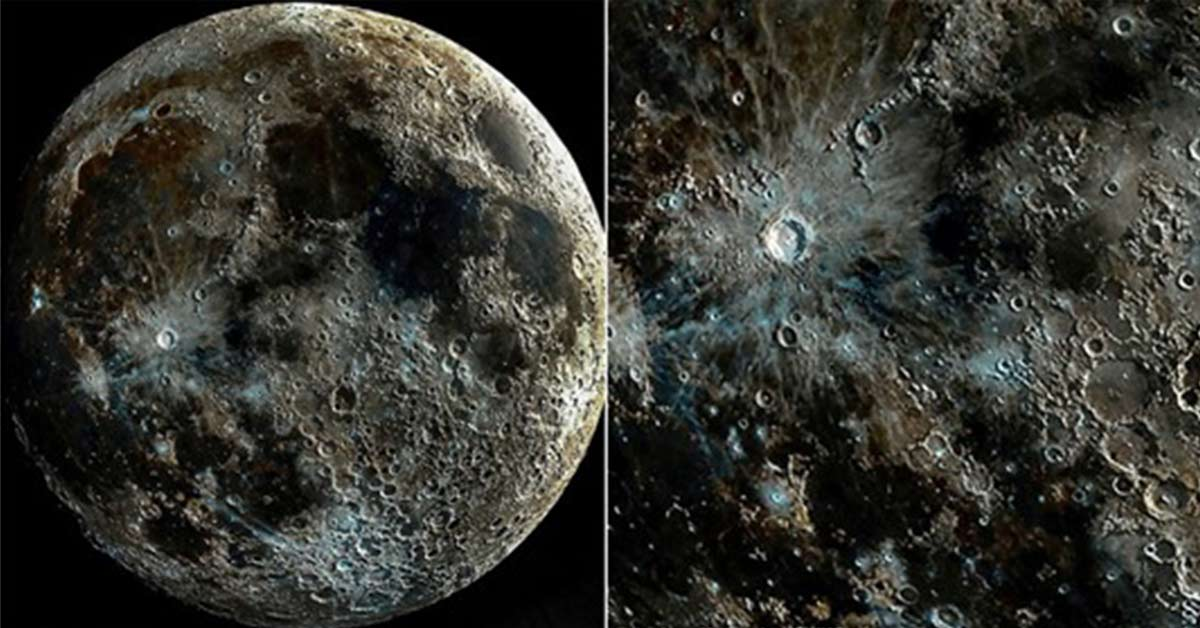 Photographer Captures Different Lunar Phases to Make the Clearest Picture of the Moon