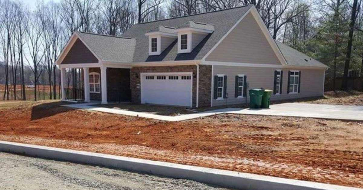 Man drives by Brand New House and Sees Something's Wrong. Can You Spot It?
