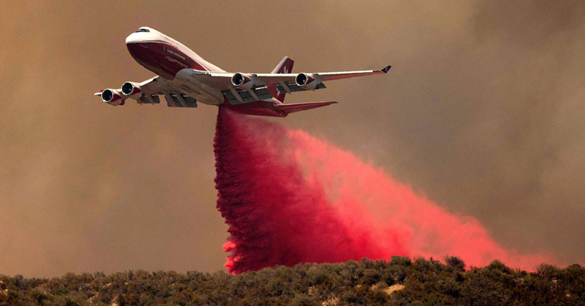 Retired Passenger Jets Are Getting a Chance to Be Useful Again As Water Bombers