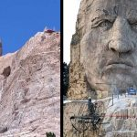 Crazy Horse Monument in South Dakota Slowly Taking Shape – Might Become a World Wonder Upon its Completion