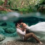 A Stunning Picture of Newlyweds Kissing Underwater Was A Dream Come True For the Photographer