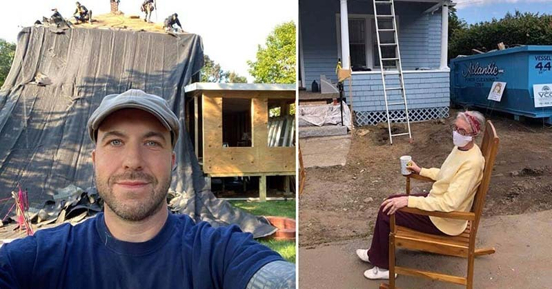 Electrician Raises More Than $100,000 to Help 72-Year-Old Woman Repair Her Entire Home