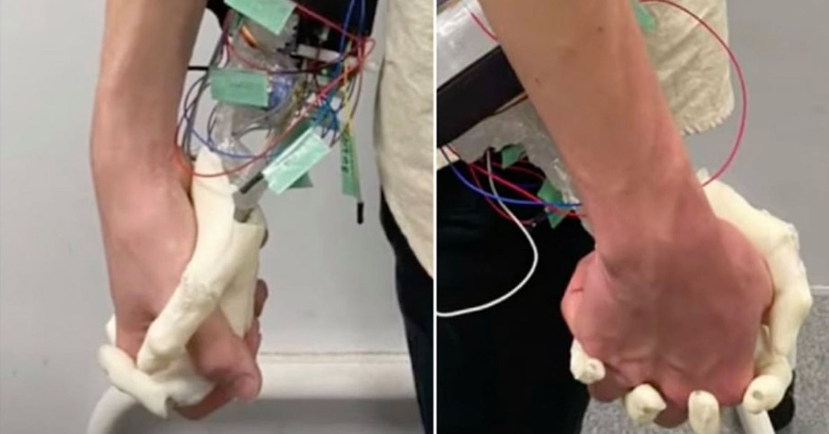 Scientists Create Robotic Girlfriend Hand for 'Lonely People'